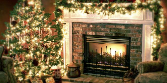 как украсить квартиру на новый год 2016 фото