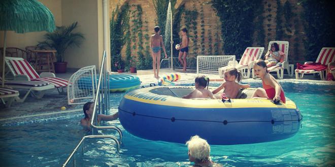 отдых с детьми на черноморском побережье Краснодарского края