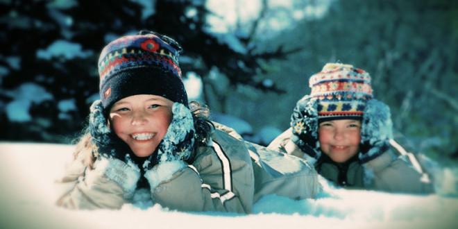активный отдых с детьми зимой 2016