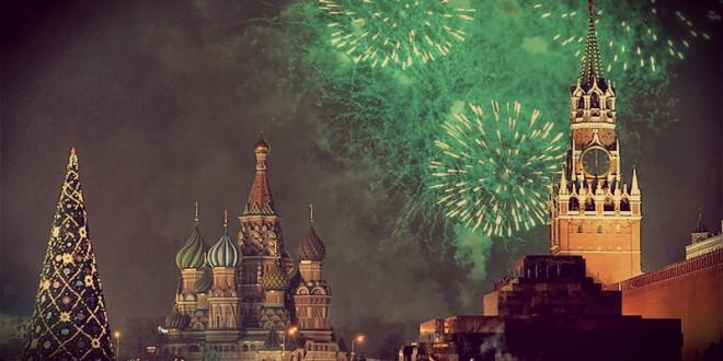 где посмотреть салют на новый год 2016 в москве