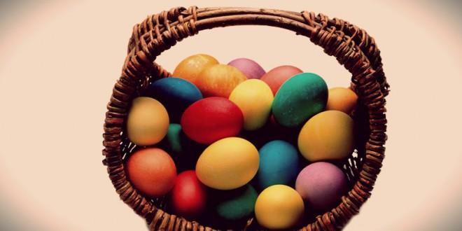 как сделать корзинку для пасхальных яиц