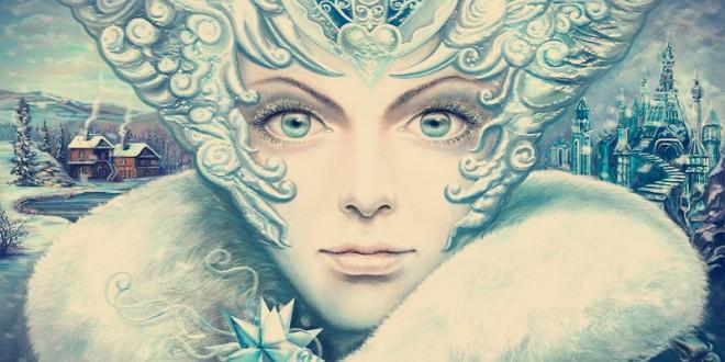 костюм снежной королевы для девочки своими руками