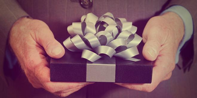 идеи вручения подарка