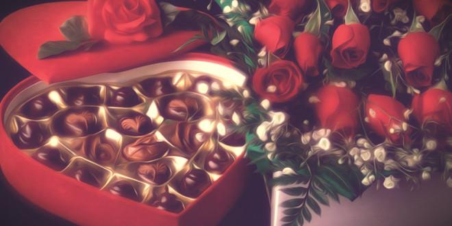 что лучше подарить девушке цветы или конфеты