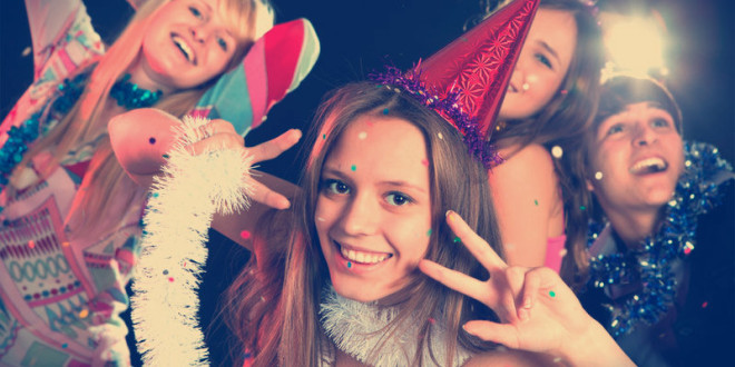 сценарий нового года 2016 для подростков