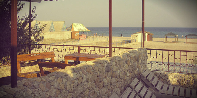 отдых в Крыму 2015 в Евпатории Штормовое частный сектор недорого