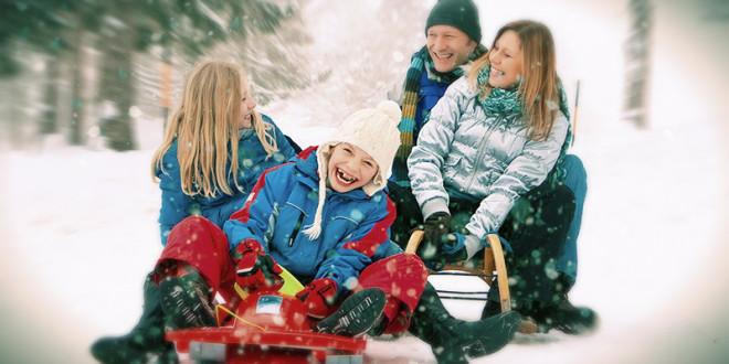 зимний отдых с детьми в россии 2016