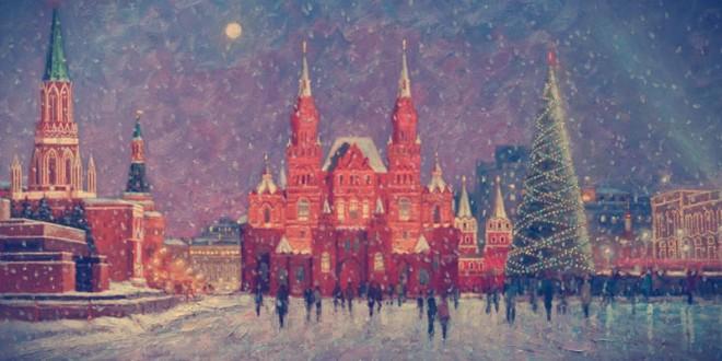 где встретить новый год на улицах москвы 2016