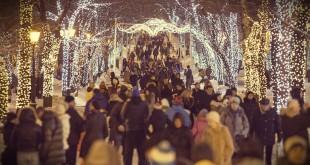 где будут проходить гуляния в москве на новый год 2016