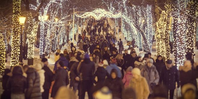 Где будут проходить гуляния в Москве на 2019 Новый год?
