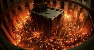 почему благодатный огонь сходит только на православную пасху