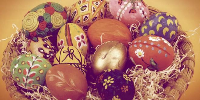 как быстро и красиво разрисовать яйца на пасху