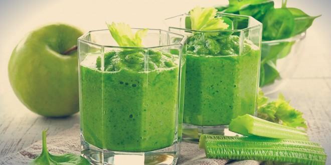 рецепты приготовления зеленых коктейлей