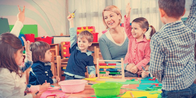 поздравление с 8 марта воспитателю детского сада