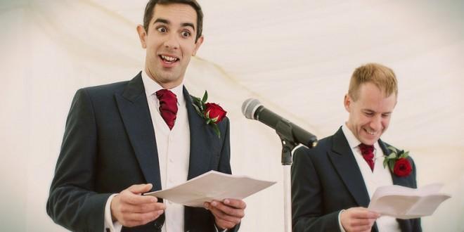 поздравления от свидетеля на свадьбе