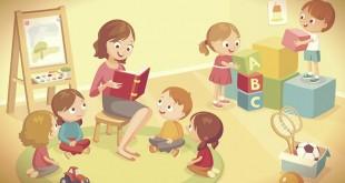 сценки про воспитателя детского сада