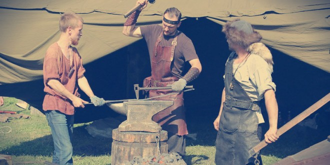 фестиваль кузнечного мастерства огни гефеста