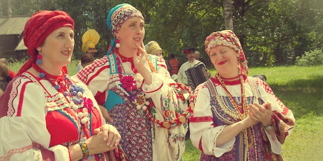 фестиваль народного творчества ситцевый узорный хоровод в лаптях