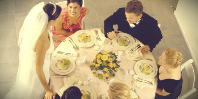 самостоятельная сервировка свадебного стола