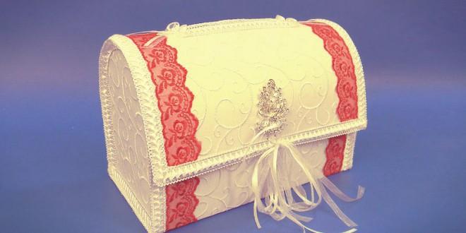 коробка для денег на свадьбу своими руками