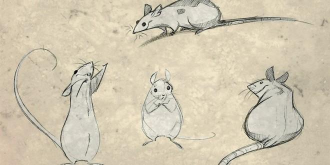 как нарисовать крысу на 2020 год